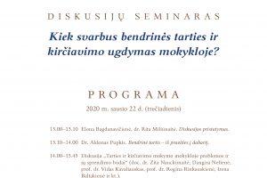 Diskusija_seminaras_kirčiavimo ugdymas