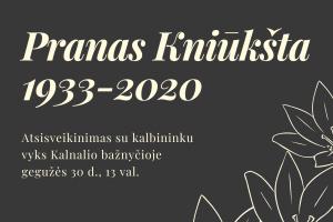 Dark Blue and Cream Flower Illustration Memorial Invitation